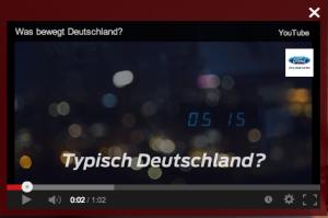 Ford - Was bewegt Deutschland? Video