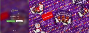 Cadbury Google+ Header Grafik