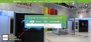 Bosch Bewertungsansicht